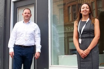 2ND UNLOCK EMPLOYMENT pic shows Gerry Keogh and Samantha McDonald