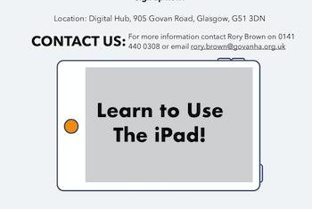 iPad Workshop Poster